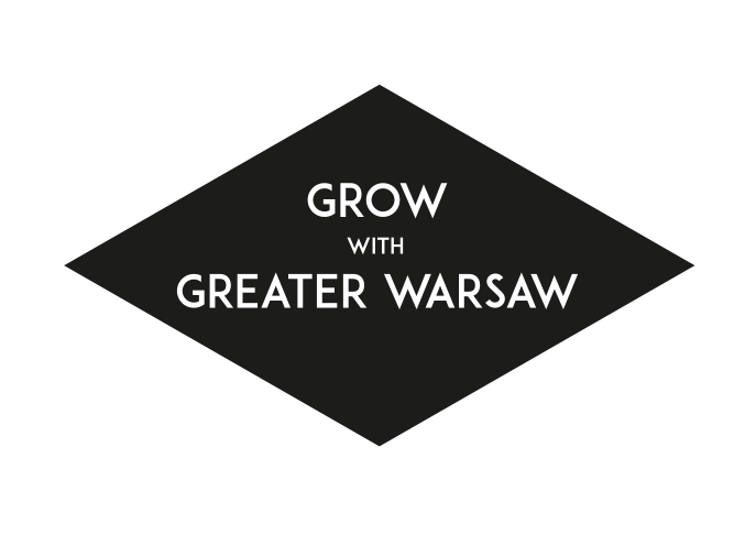 logo grow with greater warsaw